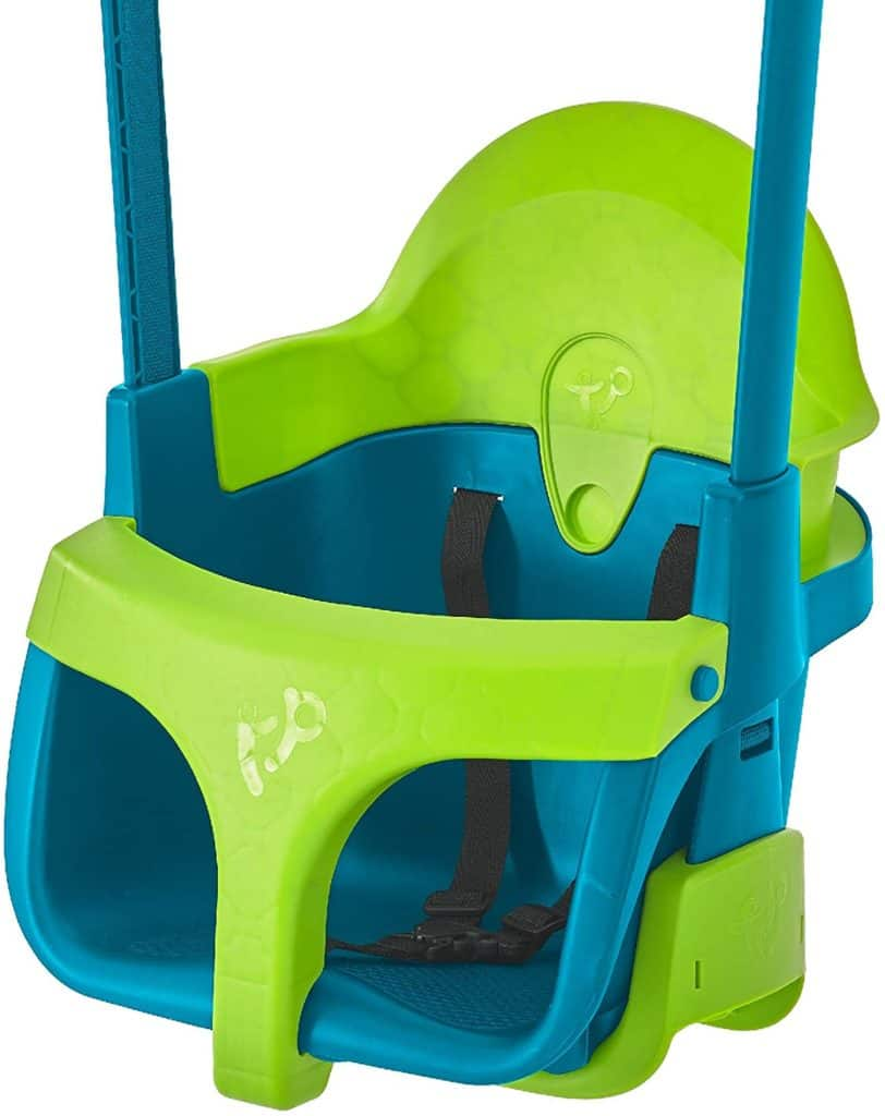 TP Quadpod Adjustable 4-in-1 Swing Seat – 6 Months to 8 Years