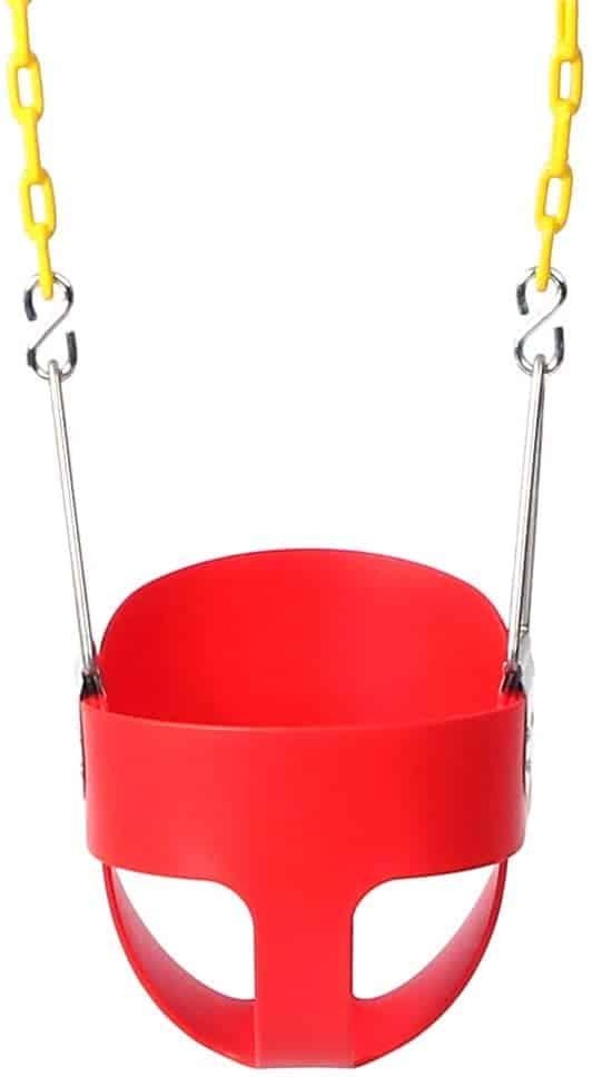Take Me Away High Back Full Bucket Toddler Swing Seat