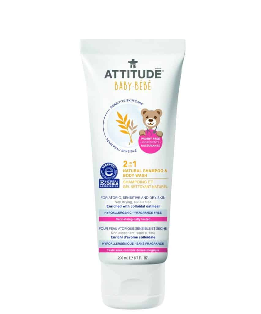 Attitude Natural 2-in-1 Baby Shampoo & Body Wash
