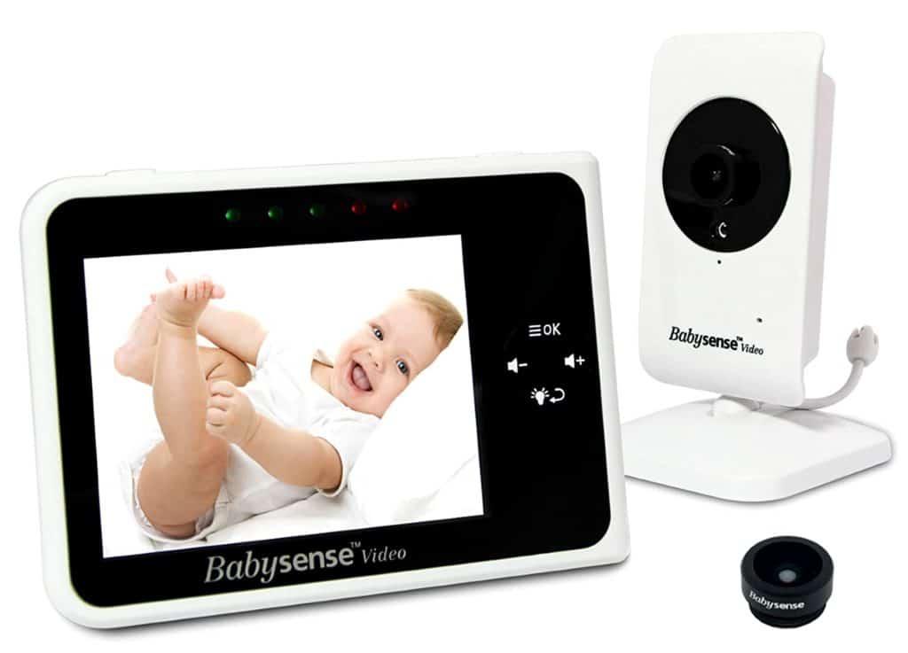 BabySense Video Baby Monitor Digital Camera with Night Vision