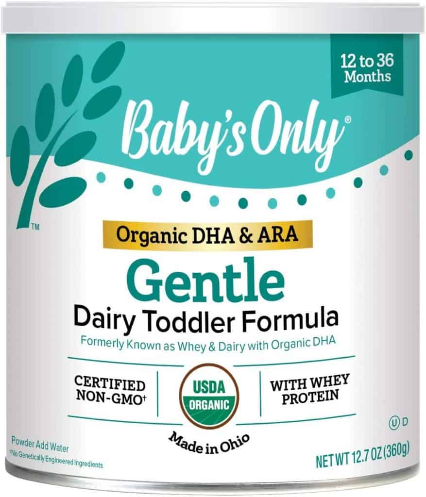 Baby's Only Organic Baby Formula with DHA - Best Organic Baby Formula