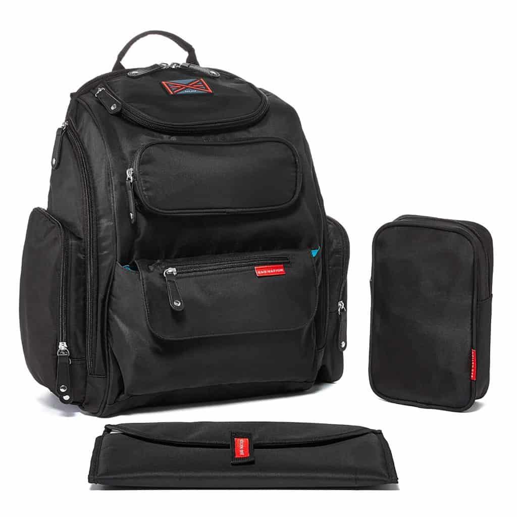 Bag Nation Backpack Diaper Bag