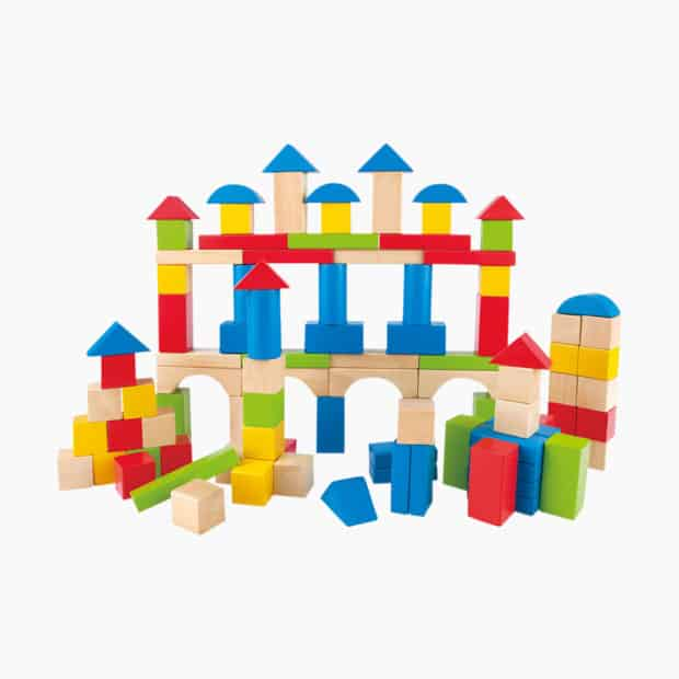 Blocks, Hape Build Up & Away Blocks
