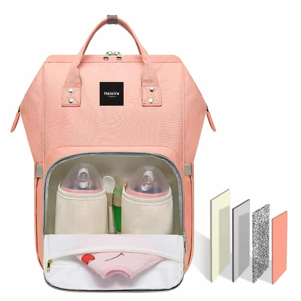 HaloVa Backpack Diaper Bag