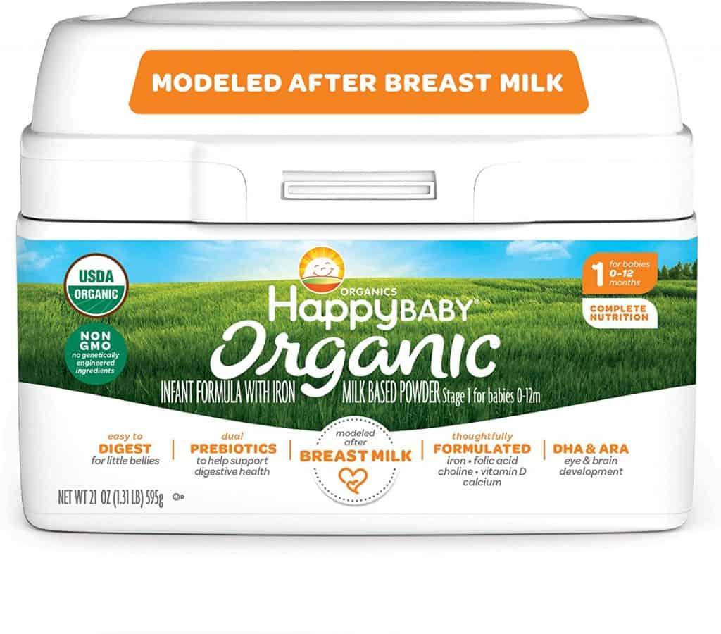 Happy Baby Organic Baby Formula - Best Organic Baby Formula