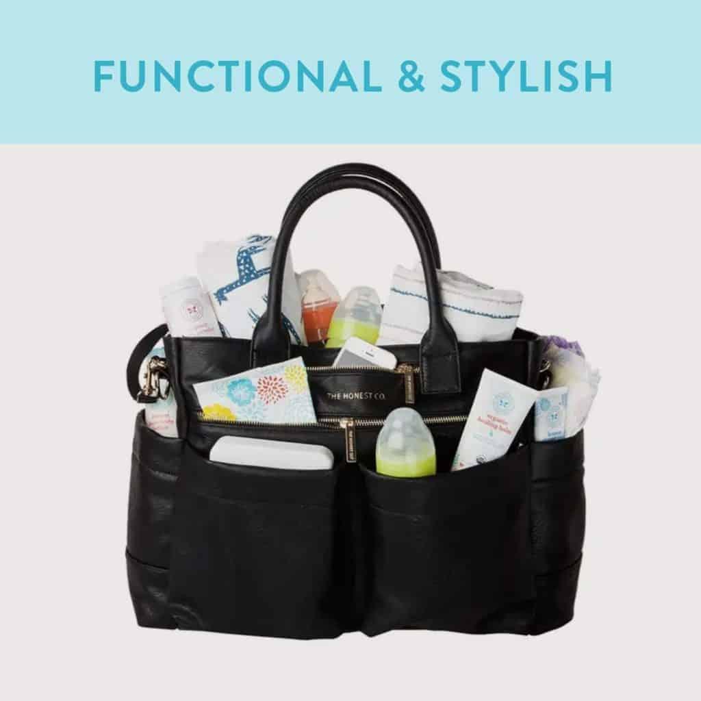 Honest Company Everything Tote Diaper Bag