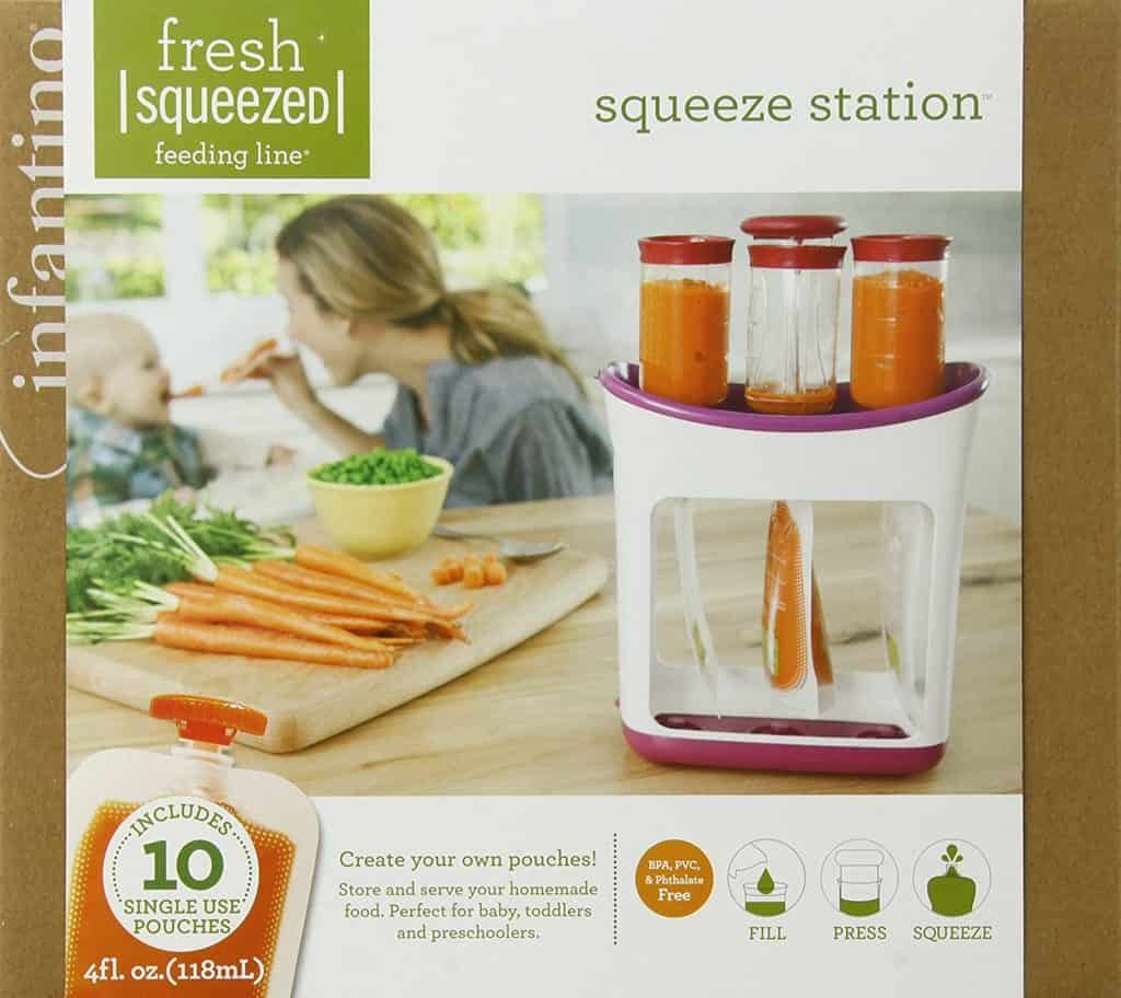 Infantino Squeeze Station - For snacks