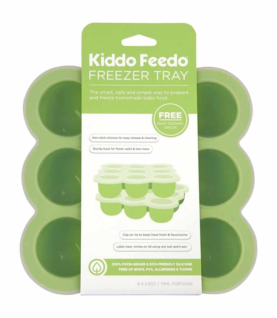 Kiddo Feedo Baby Food Storage and Freezer Tray