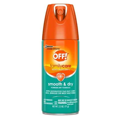 OFF Family Care Smooth & Dry Insect & Mosquito Repellent