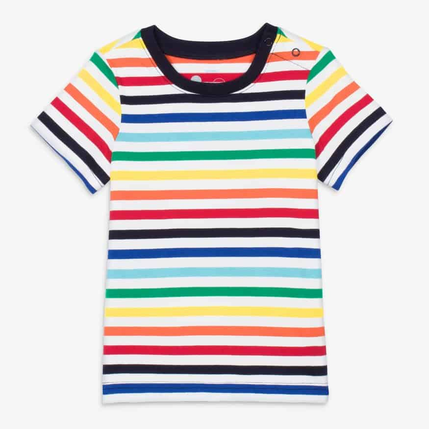 Primary Rainbow Tee