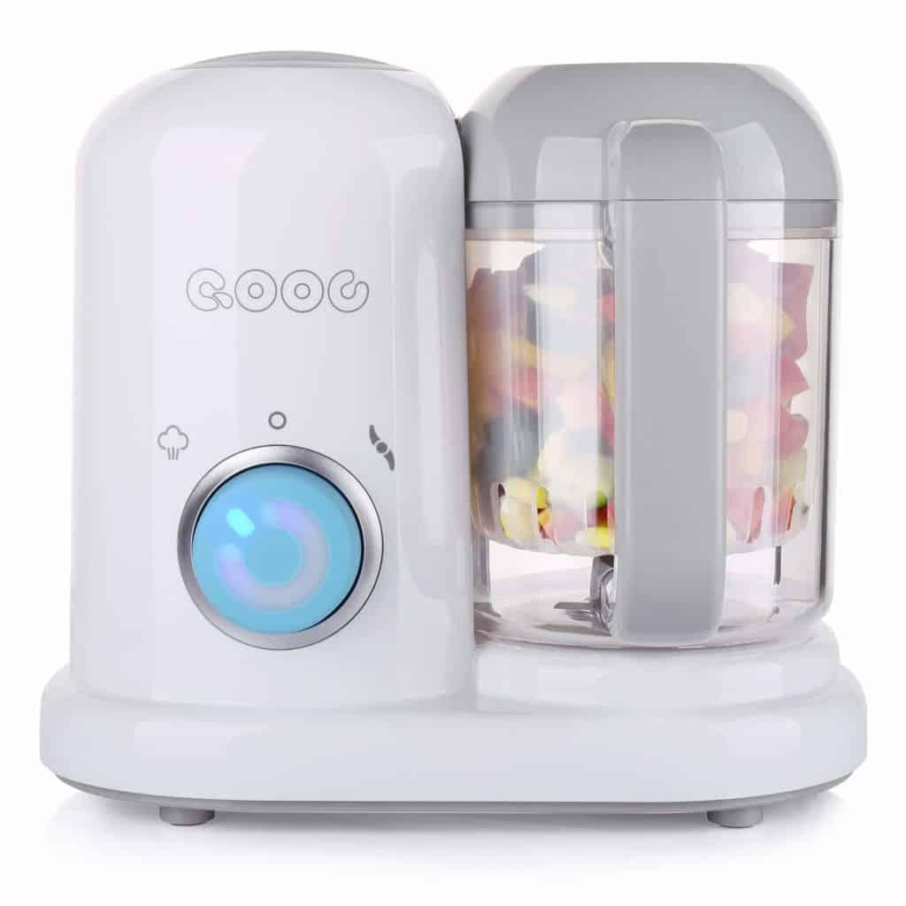 QOOC Mini Baby Food Maker - Best compact Food Maker