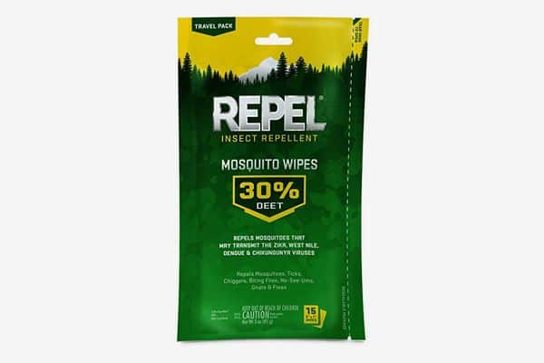 Repel Insect Repellent Mosquito Wipe