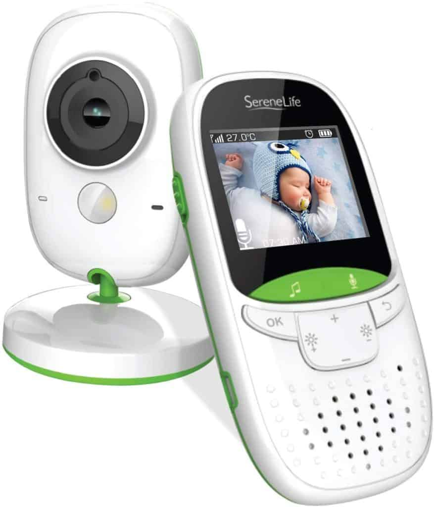 SereneLife Wireless Video Baby Monitor Dual System