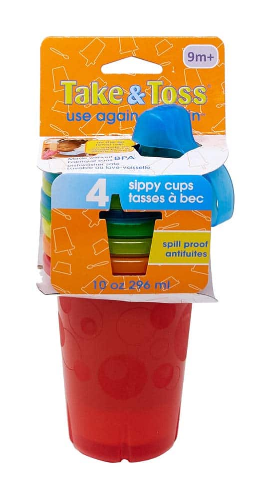 Take & Toss Spill-Proof Sippy Cups