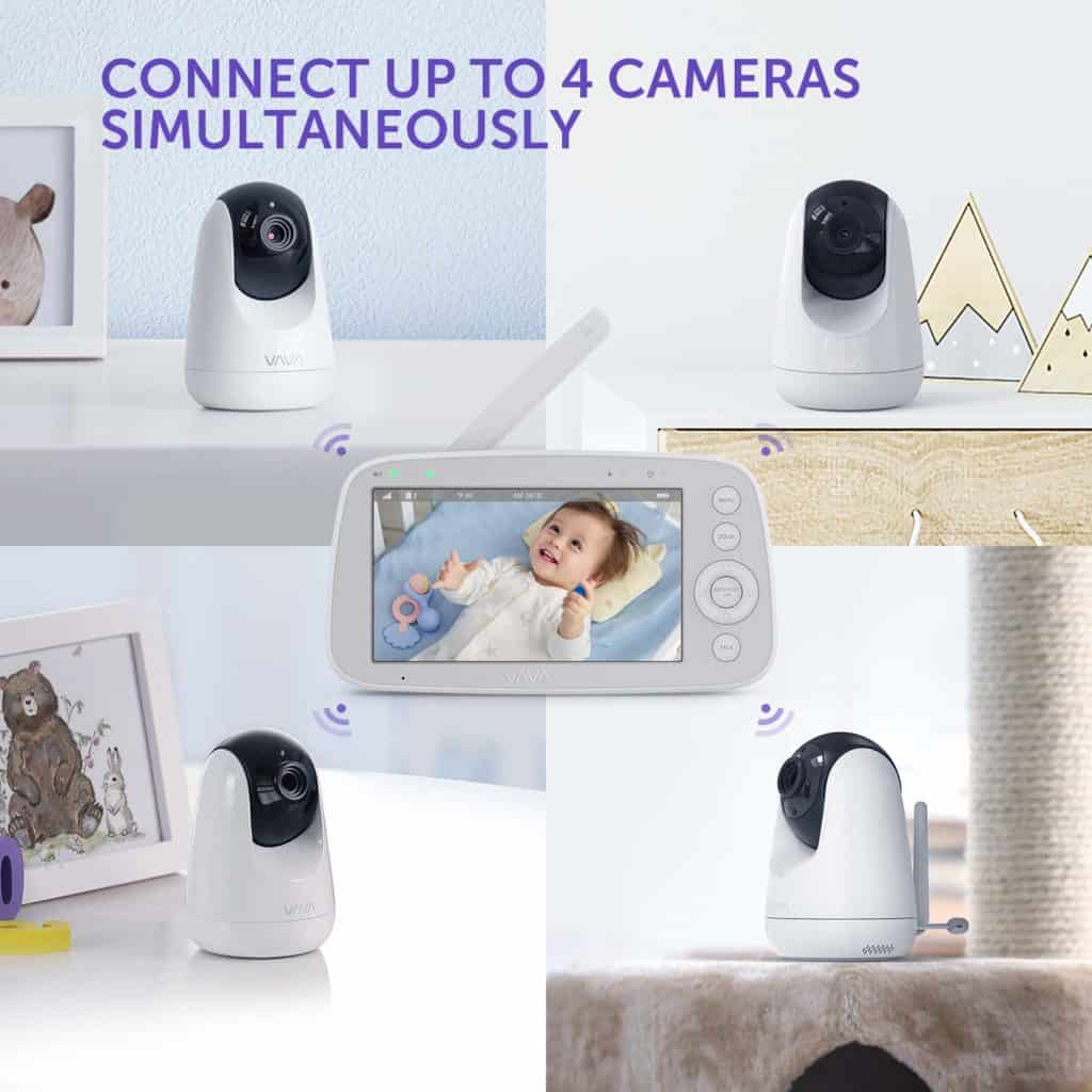 VAVA 720p HD Video Baby Monitor