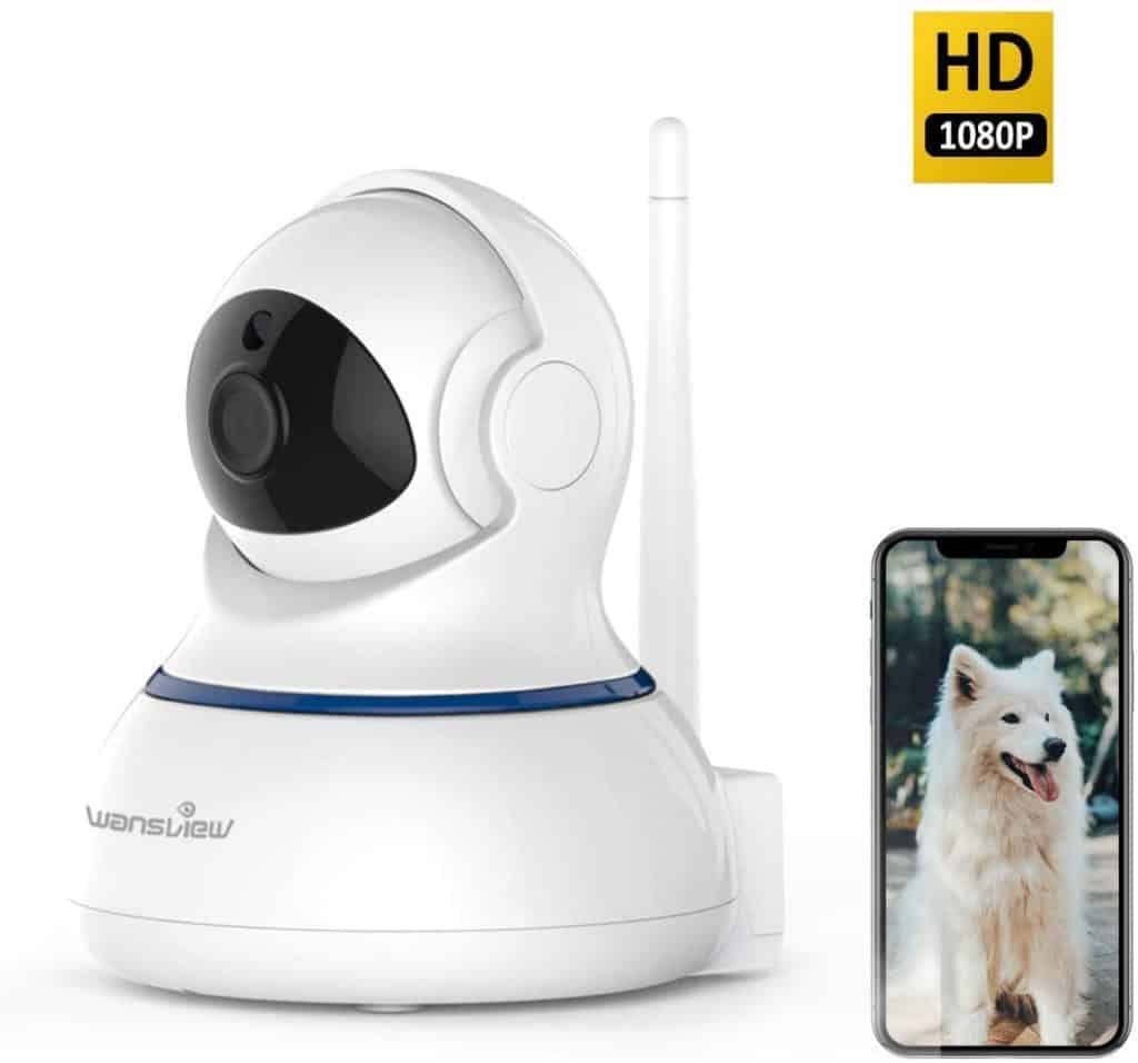 Wansview Wireless 1080P IP Wi-Fi Home Surveillance Camera for Baby