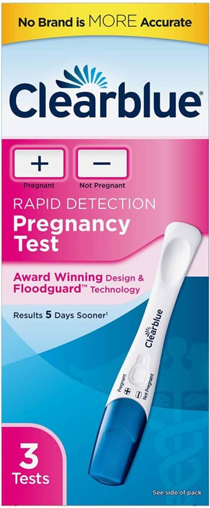 Clearblue Digital Pregnancy Test with Smart Countdown