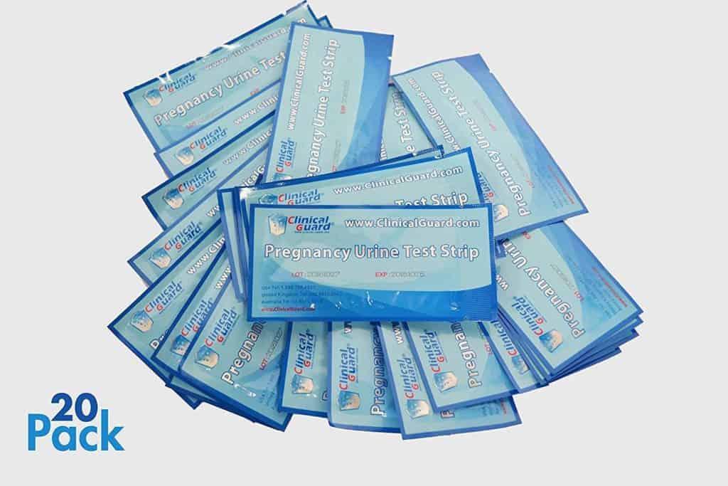 ClinicalGuard HCG Pregnancy Test Strips