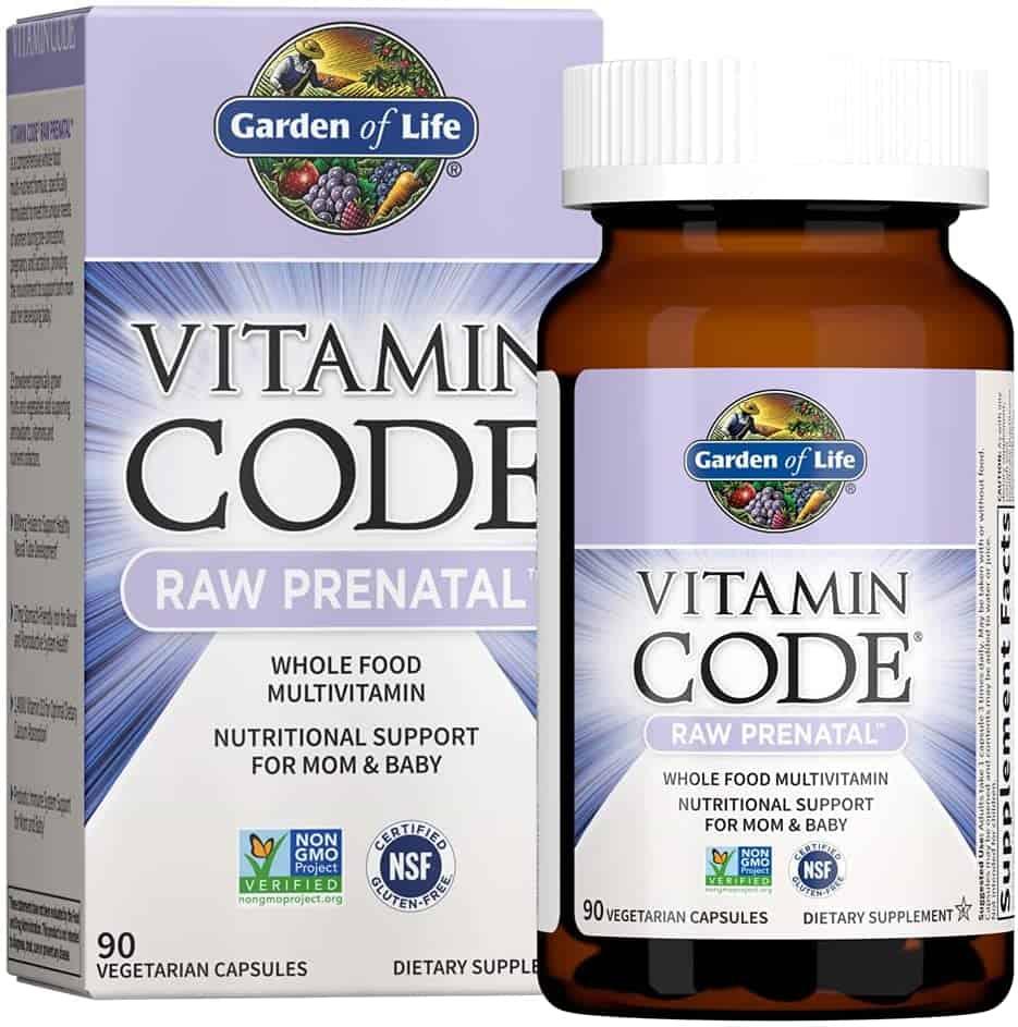Garden Of Life Vitamin Code RAW Prenatals