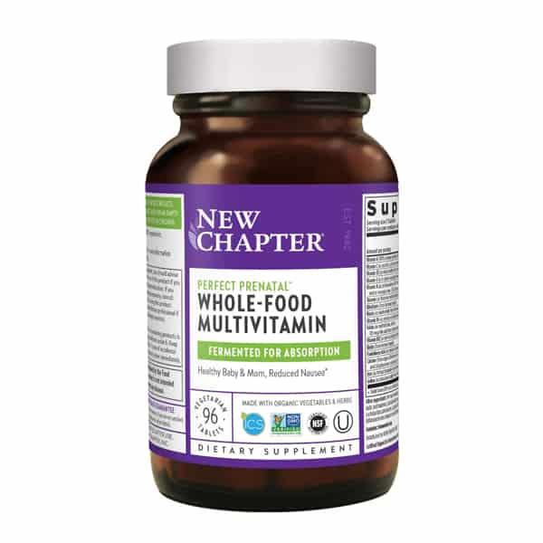 New Chapter Perfect Prenatal Multivitamins
