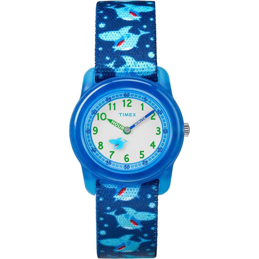 Timex Analog Elastic Fabric Strap Watch Parenthoodbliss