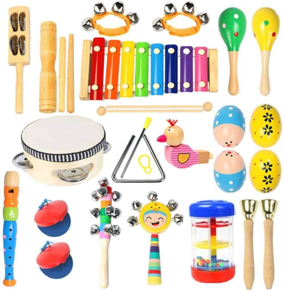 Baby's First Musical Instrument Set