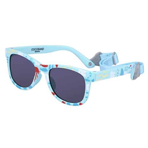 COCOSAND Toddler Baby Sunglasses with Straps