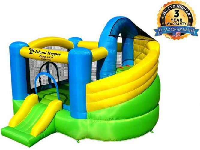 Island Hooper Inflatable Bounce House