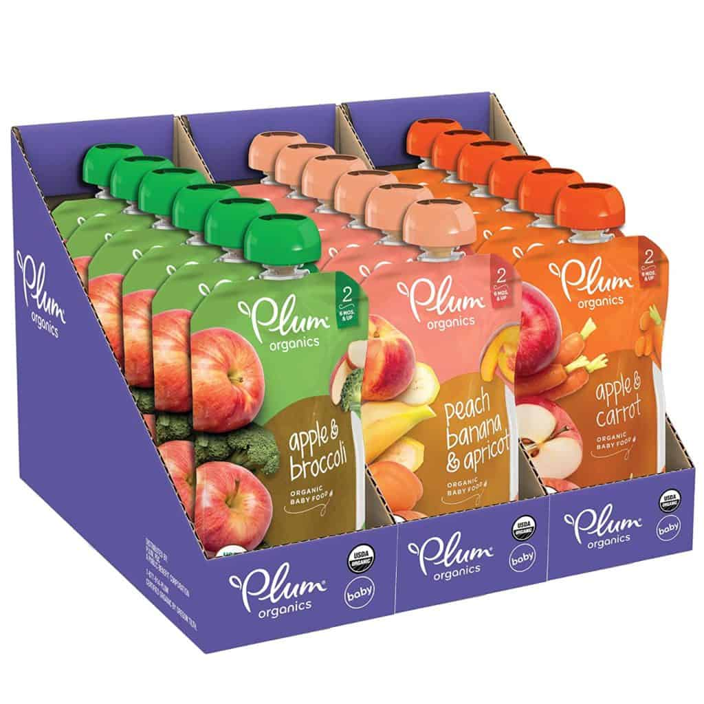 Plum Organics Stage 2 Fruit and Veggie Pack