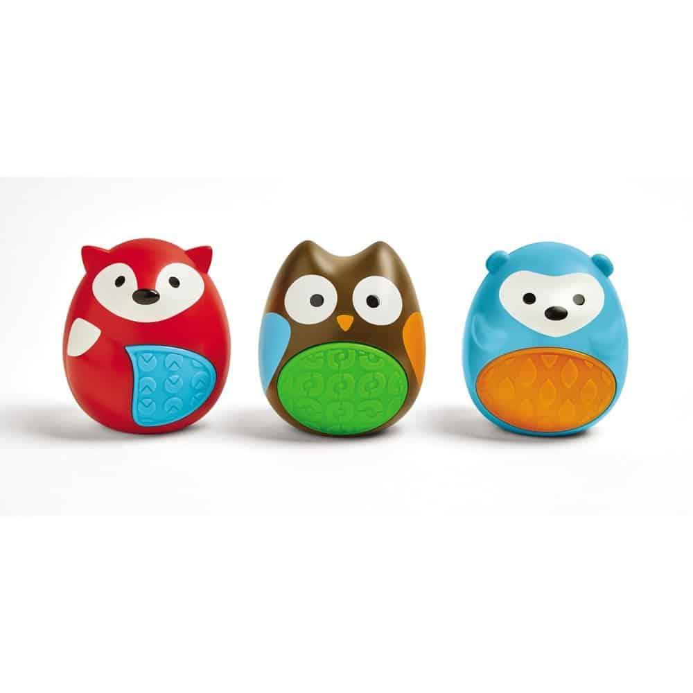 Skip Hop Musical Egg Shaker Trio Rattle Parenthoodbliss