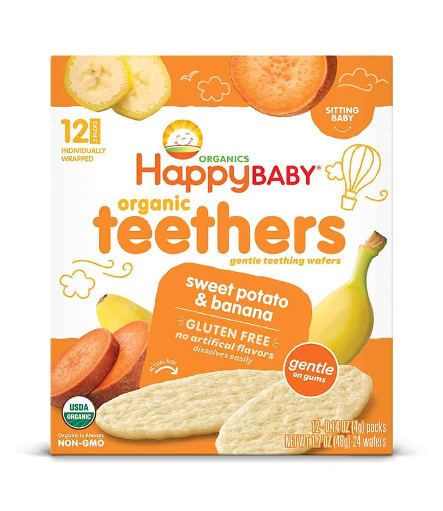 Sweet Potato and Banana Organic Teethers