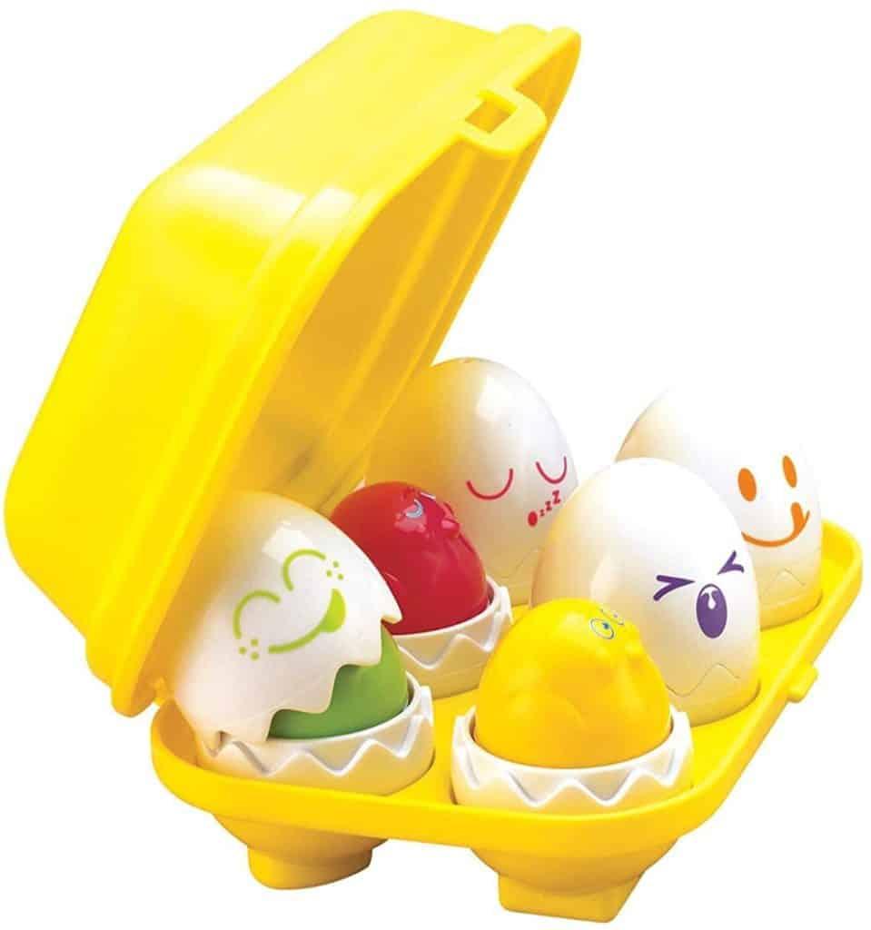 TOMY Toomies Hide & Squeak Eggs