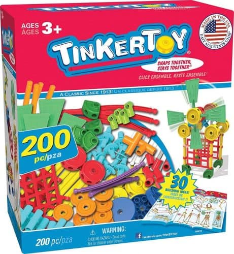 Tinkertoy 30 Model Building Set
