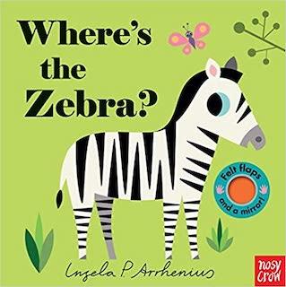 Where's the Zebra. Lift-Flap board book