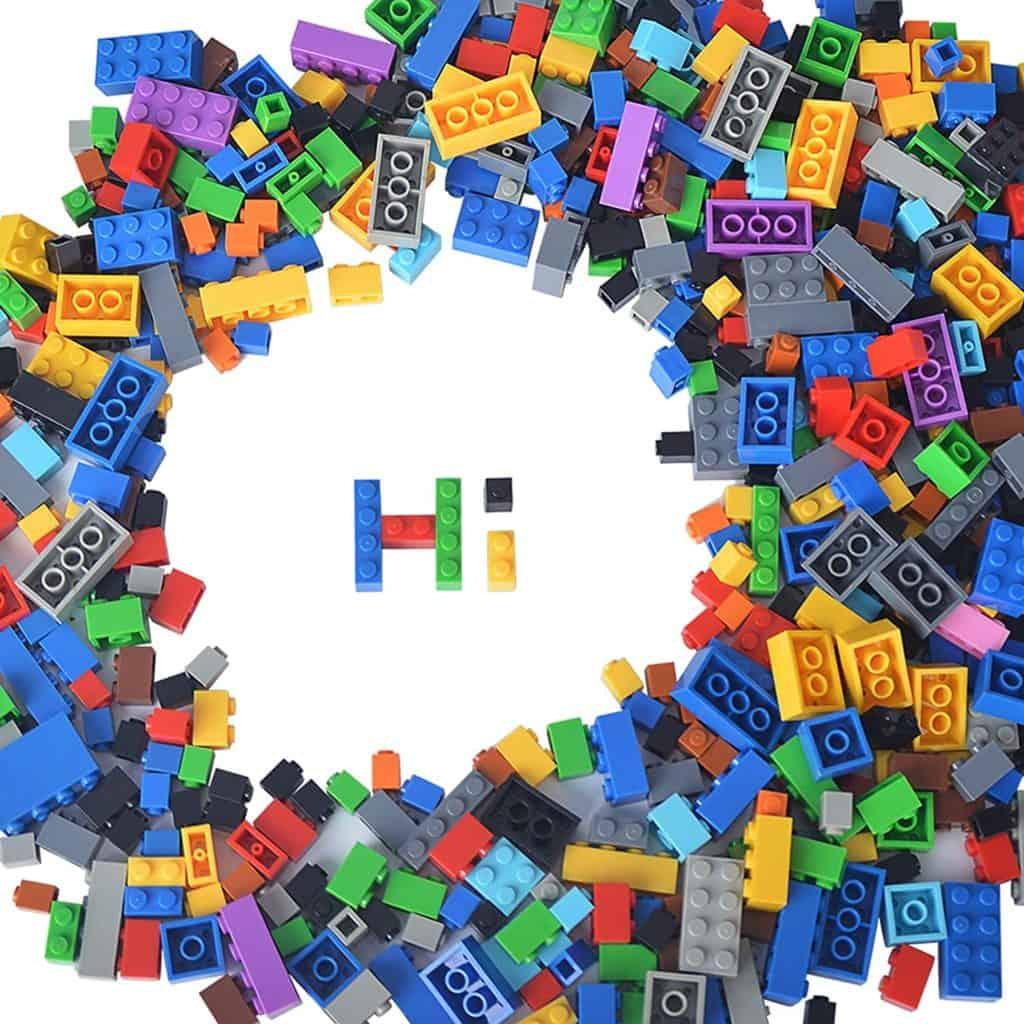 building bricks 1 000 pieces compatible with legos