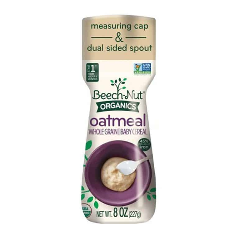 Beech-Nut Stage 1 Organic Oatmeal Cereal