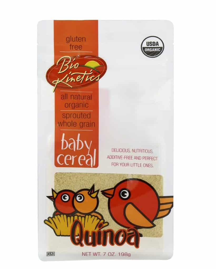 Bio-Kinetics Organic Quinoa Baby Cereal