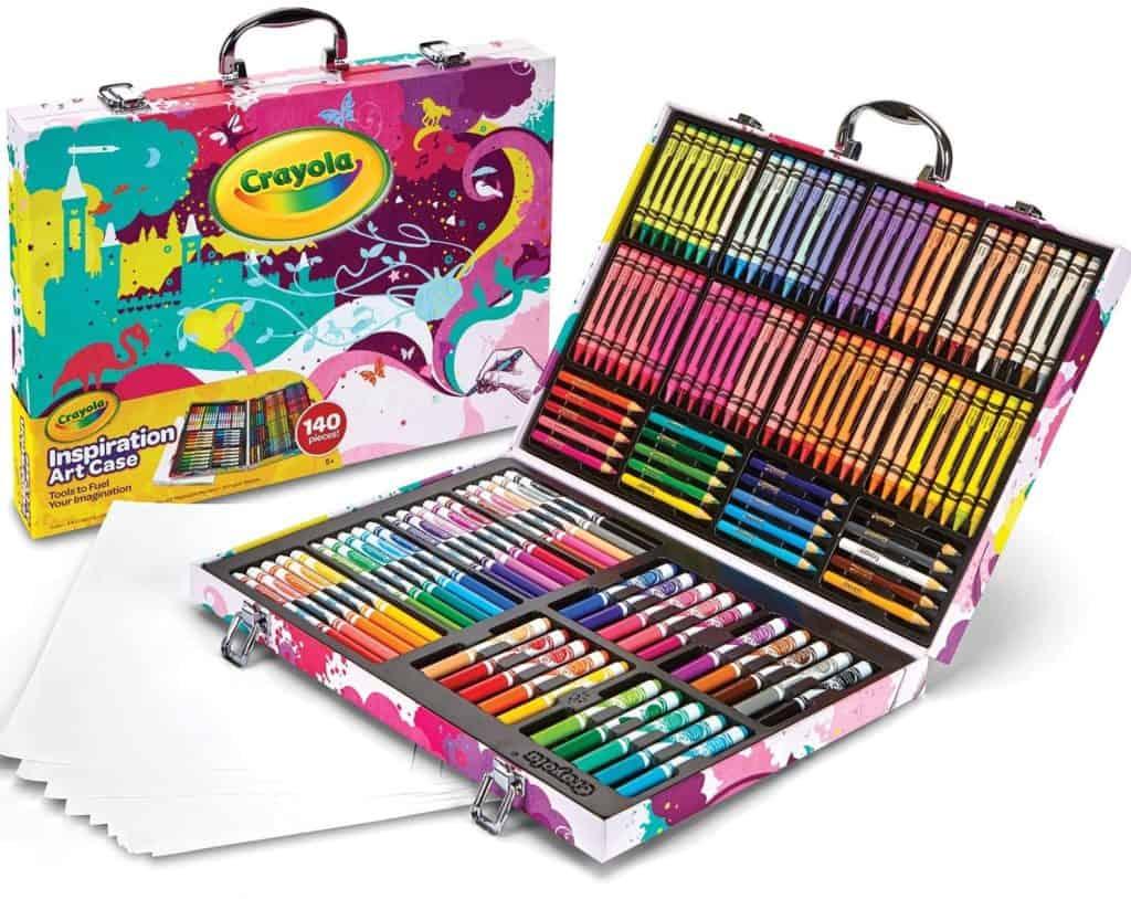 Crayola portable art studio