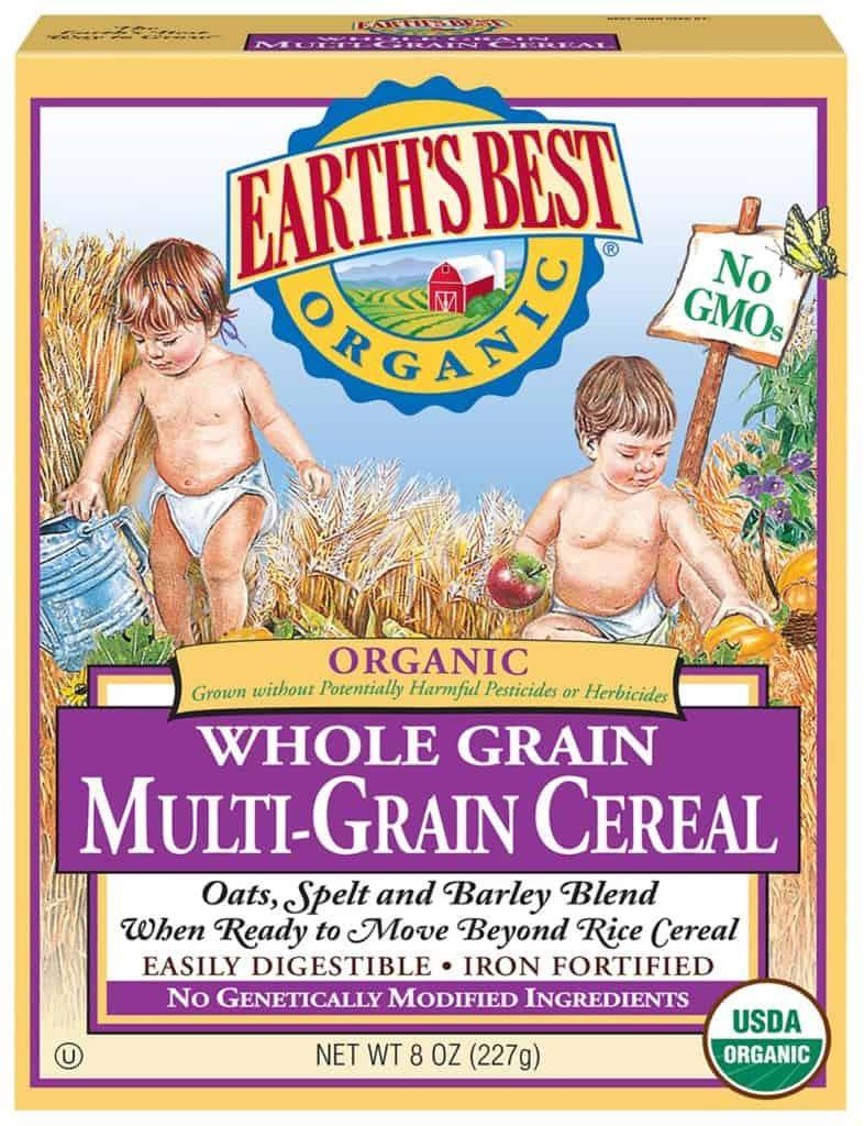 Earth's Best Organic Whole Grain Multi-Grain Cereal
