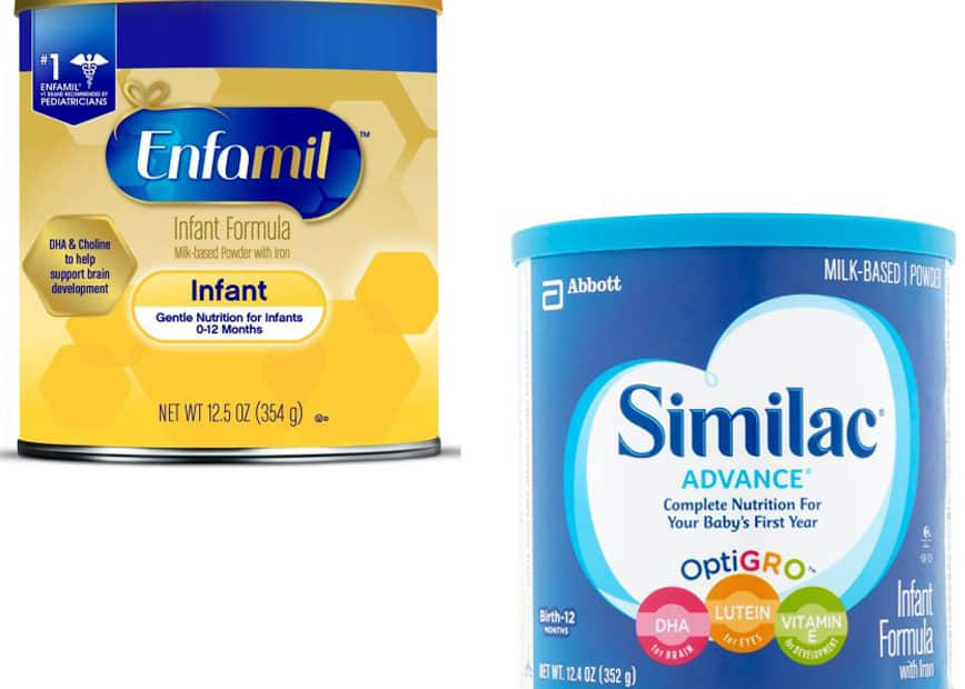 Enfamil vs. Similac- Which is the Best Baby Formula