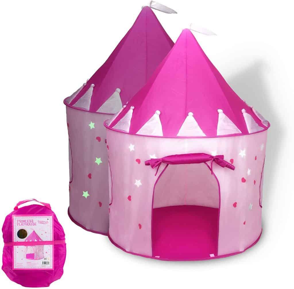 FoxPrint princess castle tent