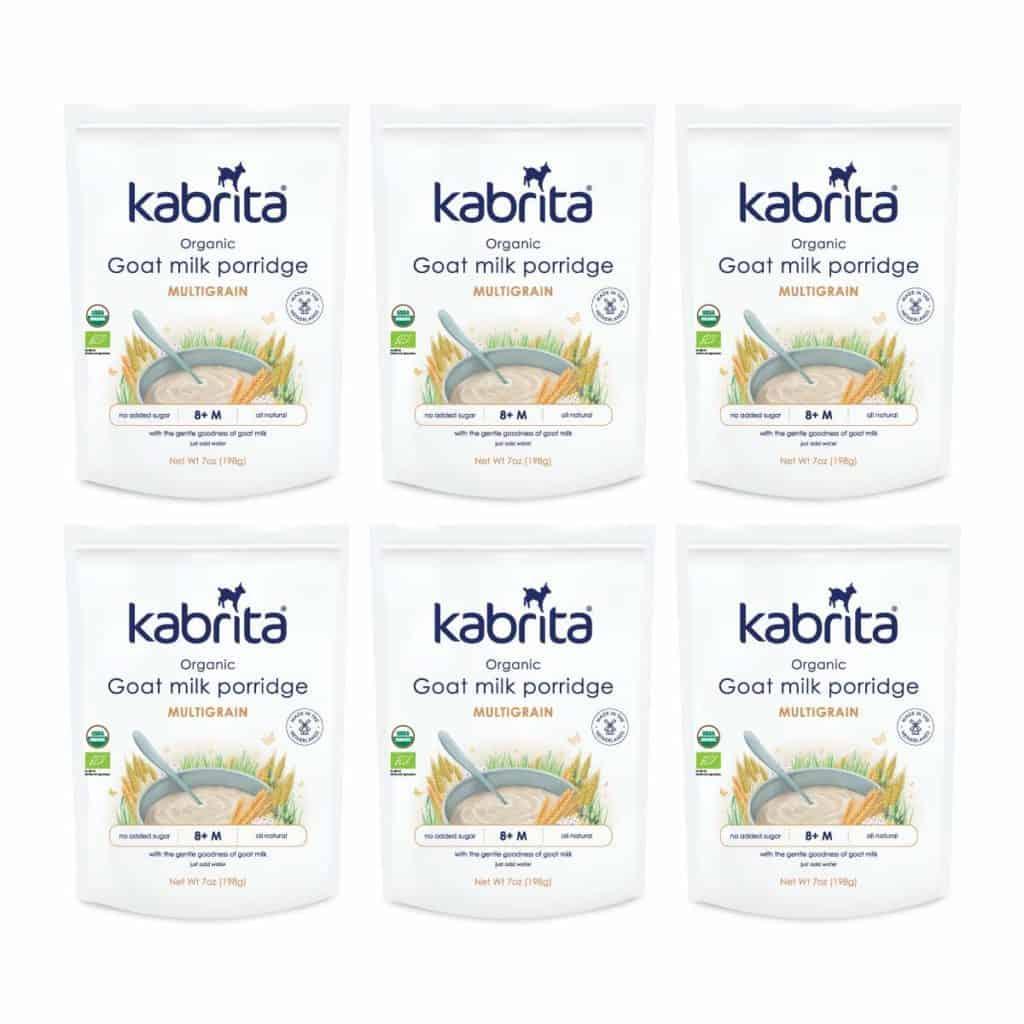 Kabrita Organic Goat Milk Porridge