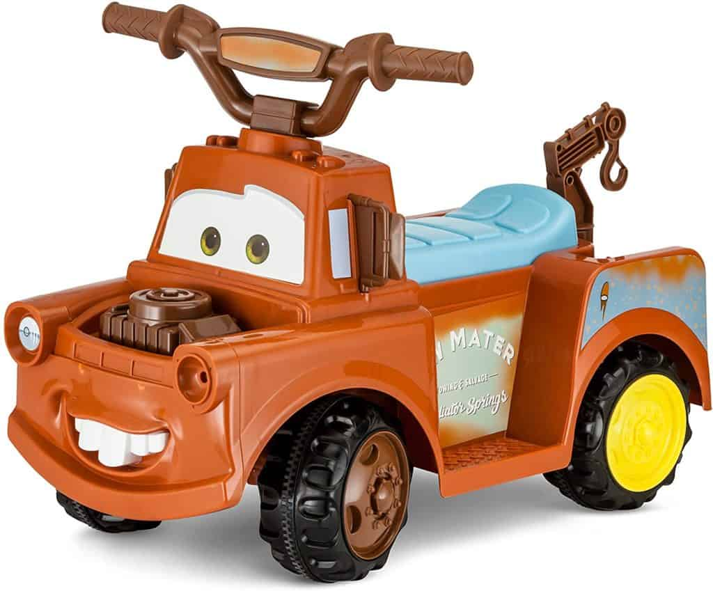 Kid Trax Disney Cars 3 Tow-Mater Electric Ride On