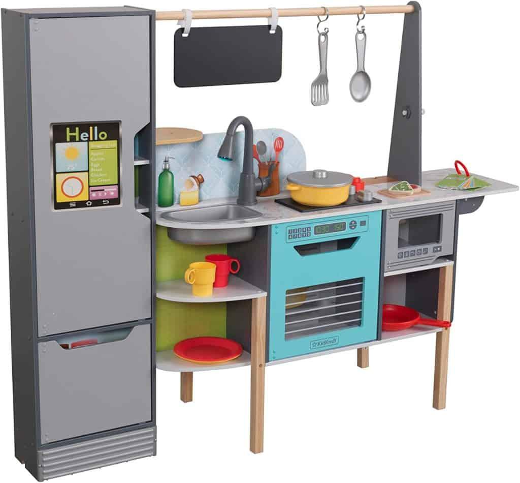 KidKraft Amazon Alexa 2-in-1 Kitchen & Market