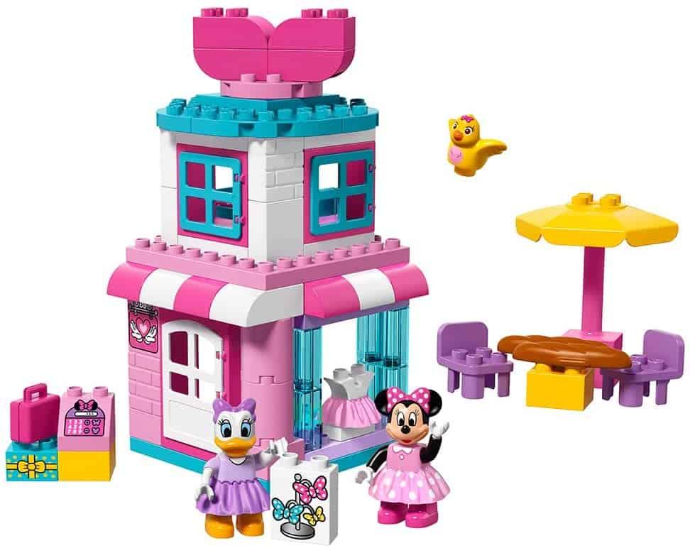 LEGO Duplo Brand Disney Minnie Mouse Bow-Tique Building Kit