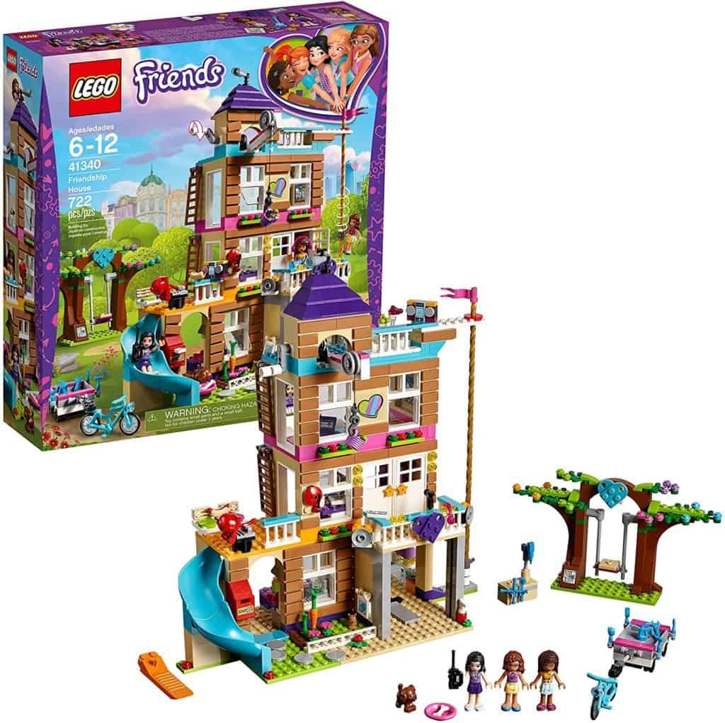 LEGO Friends 41340 Friendship house Kids Building Set