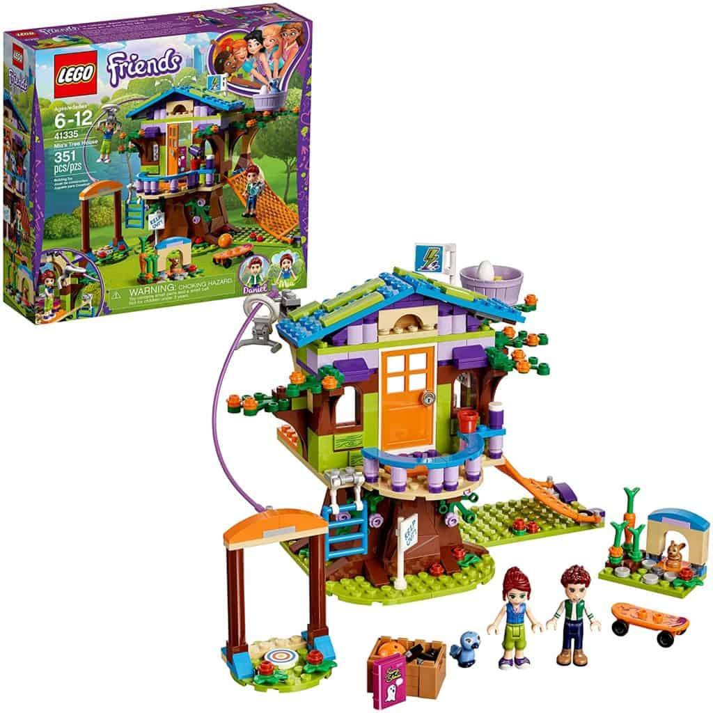 LEGO Friends 42355 Mia's Tree House Creative Building Toy