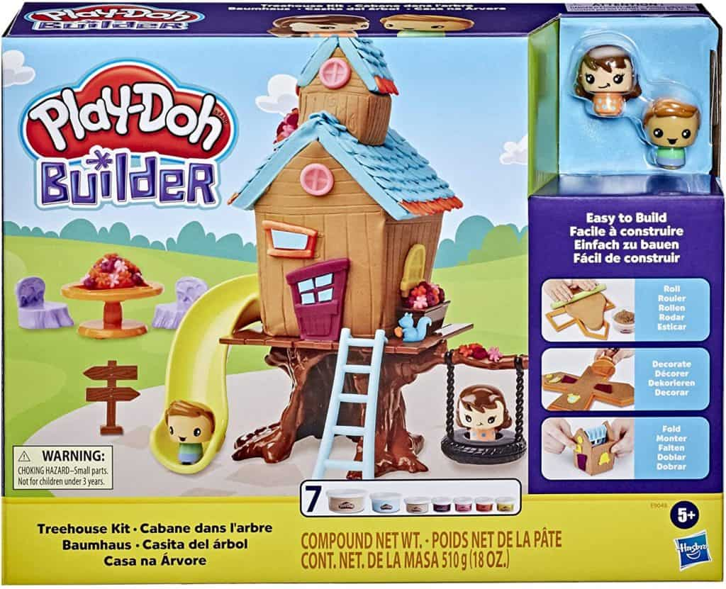Let's get creative! PLAY-DOH Treehouse Building Kit