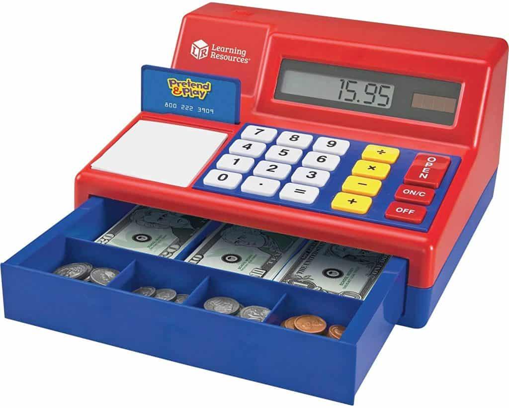 Maths made better Pretend & Play Calculator Cash Register