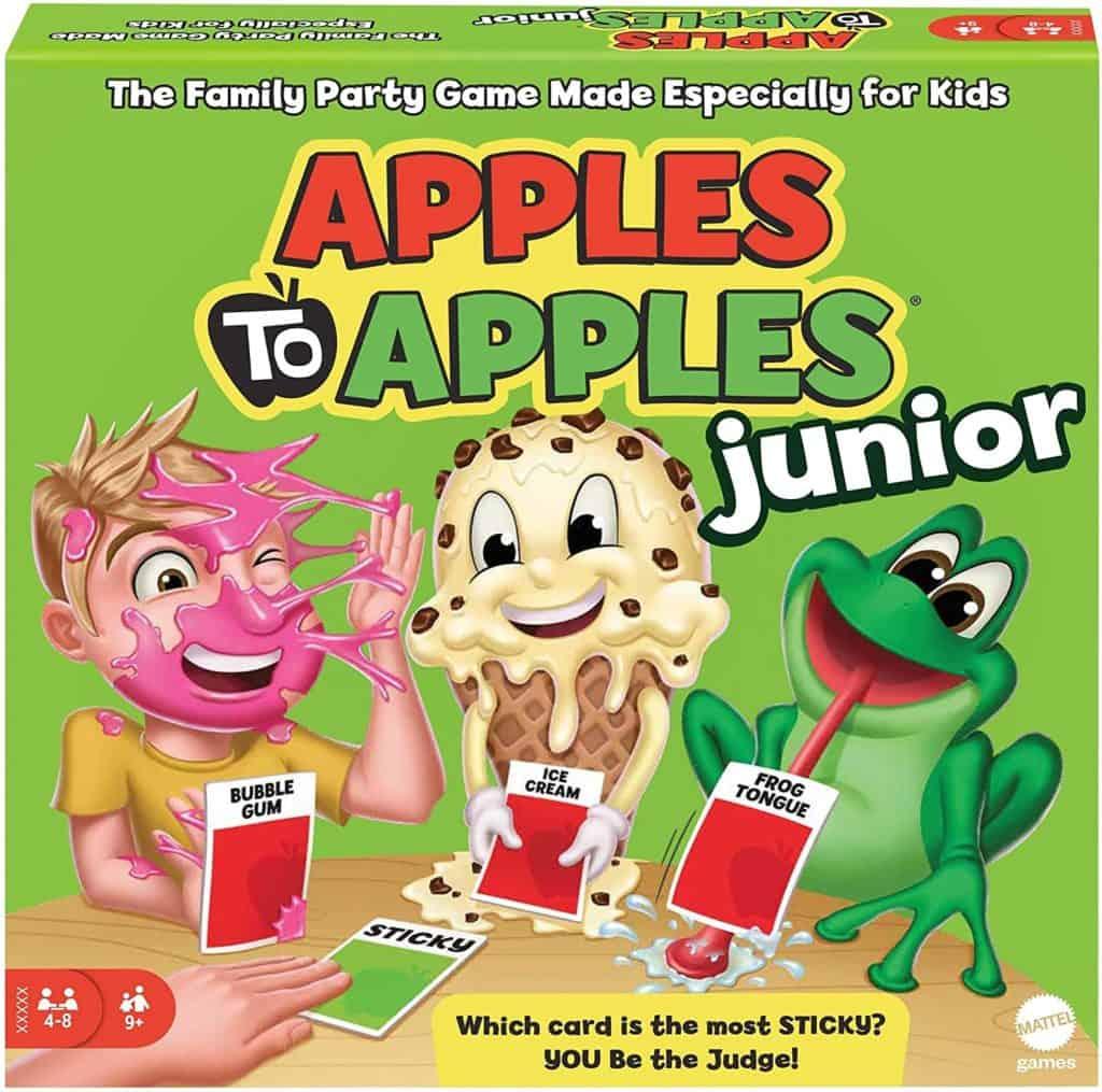 Mattel games apples to apple junior